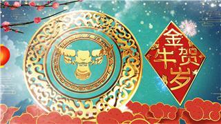 春节新年AE与PR模板